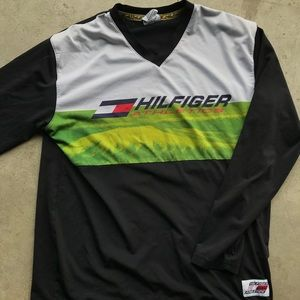 Tommy Hilfiger athletics long sleeve soccer jersey